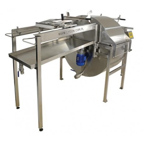Mini honey extraction line