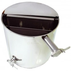Stainless settler with vertical sieve - 50 L
